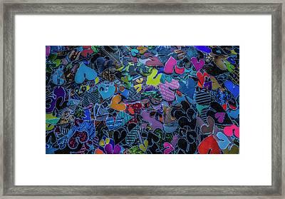 Love 4 Series 1 Framed Print