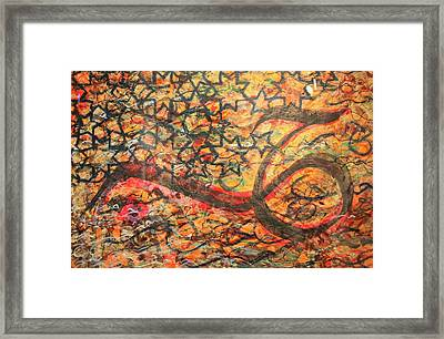 Love, A Pattern Of Life Framed Print by Faraz Khan
