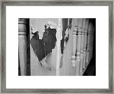 Love A Peel Framed Print