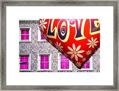 Love Above All Framed Print by Jez C Self
