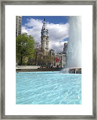 Love Across The Waters  Framed Print by Clay Cofer