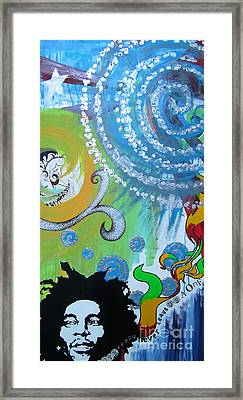 Framed Print featuring the painting Love Alone by Ashley Price