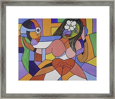 Love And Be Loved Framed Print by Jose Rojas