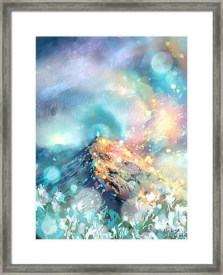 Love And Care Framed Print