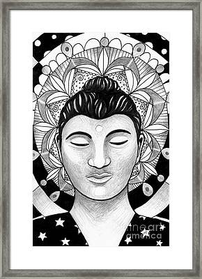 Love And Compassion And Universal Spirit Framed Print by Helena Tiainen