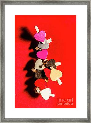 Love And Connection Framed Print