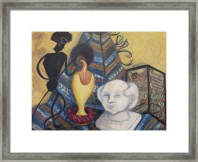 Love And Friendship Framed Print by Suzanne  Marie Leclair