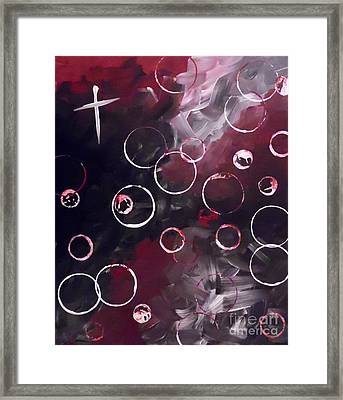 Love And Frustration Framed Print
