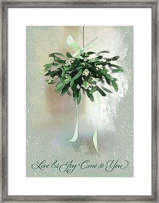 Love And Joy Framed Print