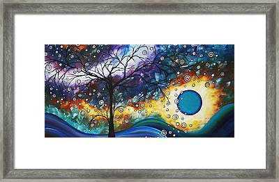 Love And Laughter By Madart Framed Print by Megan Duncanson