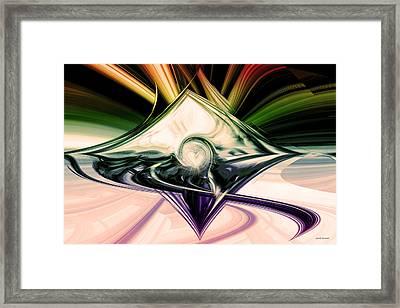 Love And Light Framed Print by Linda Sannuti