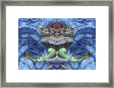 Love And War Mirrored Custom Framed Print