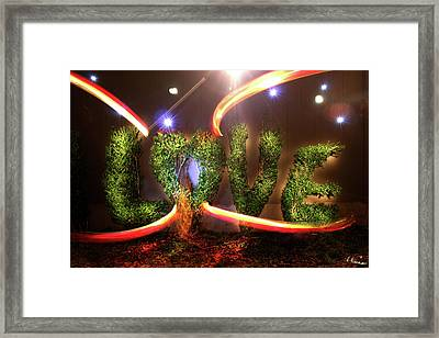 Love Framed Print by Andrew Nourse