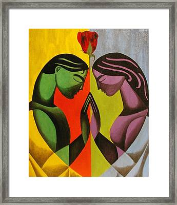 Love As One Framed Print