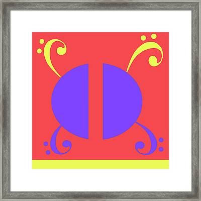 Love At First Glance Framed Print