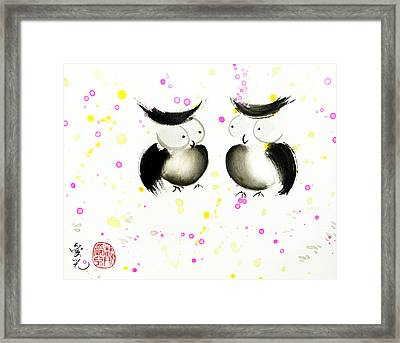 Love At First Sight Framed Print by Oiyee At Oystudio