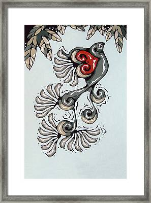Love Bird Framed Print by Susan Lishman