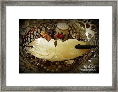 Love Birds Framed Print by Lainie Wrightson