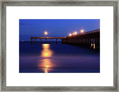 Love Blue Framed Print by Mark Ashkenazi