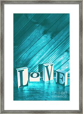 Love Blues Framed Print by Jorgo Photography - Wall Art Gallery