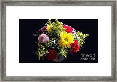 Love Bouquet Framed Print