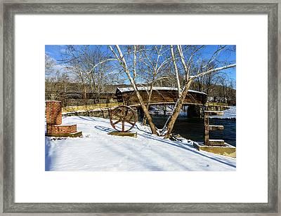 Love Bridge Framed Print by Michael Scott