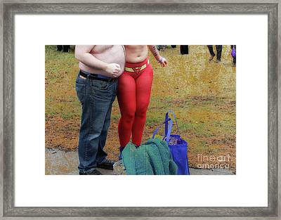 Love By The Belly Full  Framed Print by Steven Digman