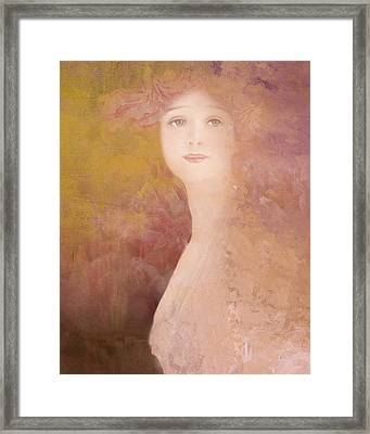 Framed Print featuring the digital art Love Calls by Jeff Burgess
