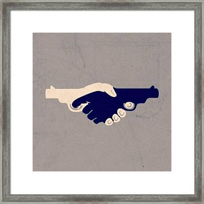 Love Couple Friends Framed Print