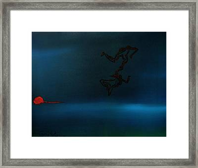 Love Dance Framed Print by Gregory Allen Page