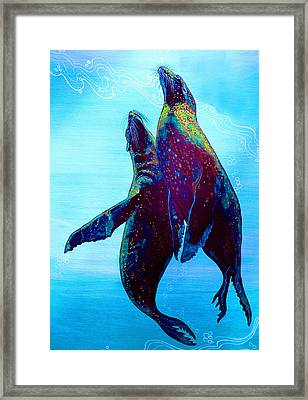 Pure Love Framed Print by Debbie Chamberlin