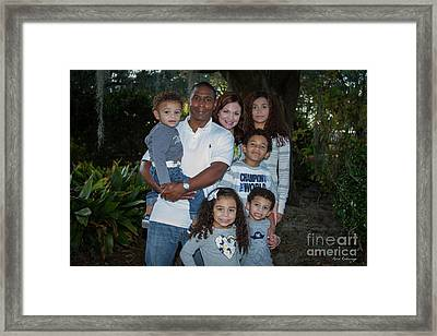 Framed Print featuring the photograph Love Demonstrated 2 James Ingram Family Art by Reid Callaway