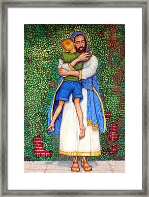 Love Framed Print by Edward Ruth