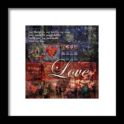 Loving Framed Prints
