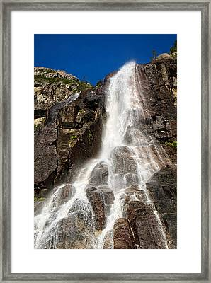 Love Flows Down Framed Print by Lucinda Walter