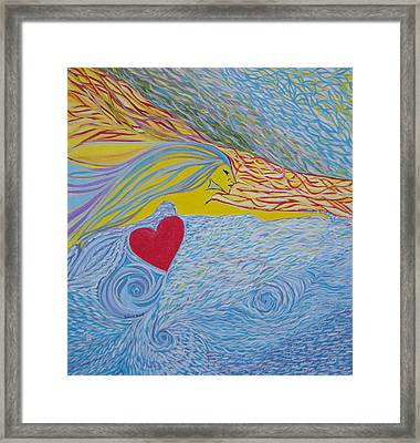 Love For Ever Framed Print
