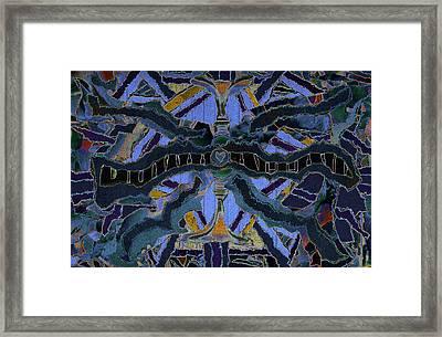 Love Forever Star Framed Print