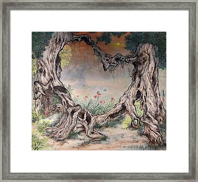 Love Forever Framed Print by Ying Wong