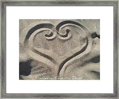 Love Framed Print by Sacred  Muse