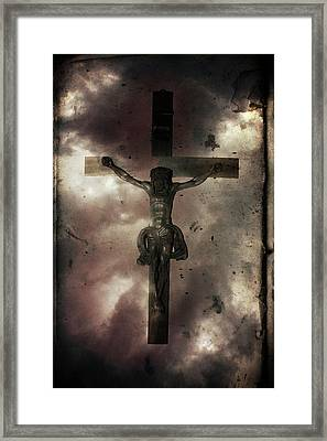 Framed Print featuring the painting Love by Gray  Artus