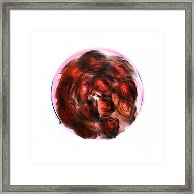 Love Grooves Framed Print