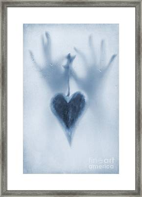 Love Heart Framed Print by Svetlana Sewell
