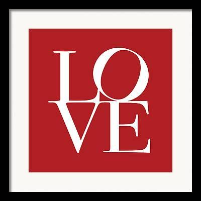 Love Letter Framed Prints