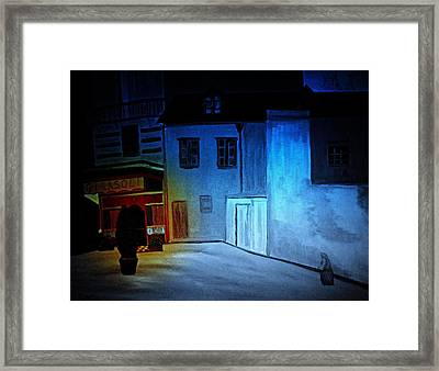 Love In San Fele Framed Print