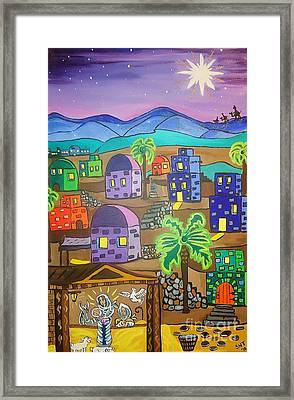 Love In The City Of David Framed Print