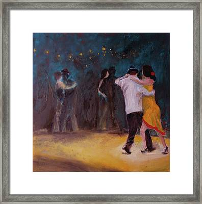 Love In The Spotlight Framed Print by Keith Thue