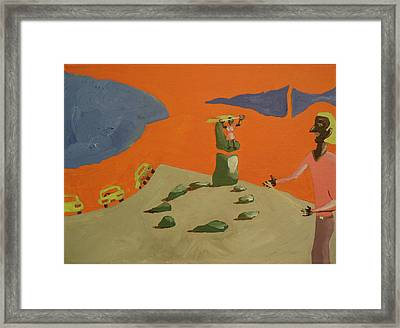 Love In The Time Of String Theory  Framed Print by Bill Perry