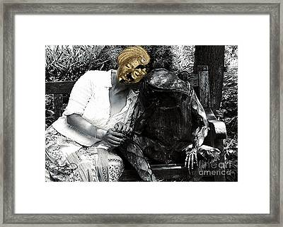 Love Is Blind Framed Print by Ginette Callaway