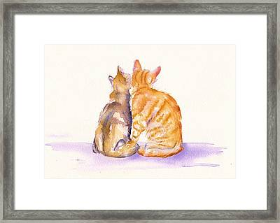 Love Is... Framed Print