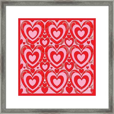 Love Is Free Framed Print